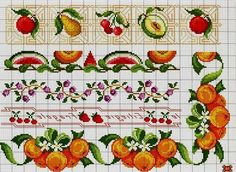 Ornaments Borders, schemes for cross stitch ~ DIY Tutorial Ideas! Diy Tutorial, Cross Stitch, Ornaments, Ideas, Punto Croce, Crossstitch, Decorations, Thoughts, Ornament