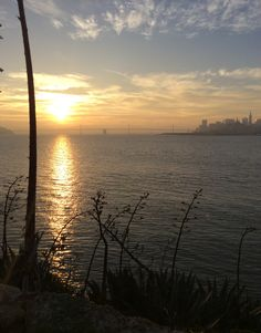 Sunrise on Alcatraz - Nov. 27, 2014