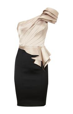 3fbcc99f313 Lovely Black & Silver One Shoulder Satin Dress. fnou gurzv · Karen Millen  Outlet Online, Karen Millen Clothing, Cheap Karen Millen