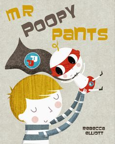 New book cover for Mr Poopy Pants, due out next year