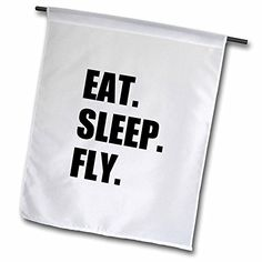 InspirationzStore Eat Sleep series – Eat Sleep Fly – fun gifts for pilots flight crew and frequent flyers – Flags | Crewiser.com
