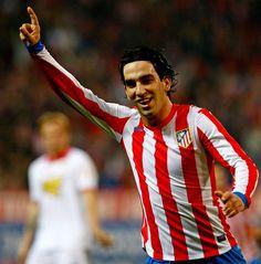 Arda Turán celebrando el gol al Sevilla.  (At.Madrid 4 - Sevilla 0)