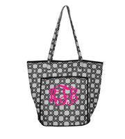 Mainstreet Collection Monogrammed Circular Tote