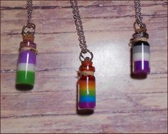 Cute Jewelry, Diy Jewelry, Jewelery, Ace Pride, Pride Flag, Lgbtq Flags, Pride Outfit, Bottle Charms, Lgbt Love
