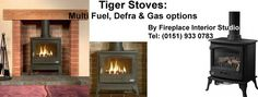 Tiger Stoves available from Fireplace Interior Studio