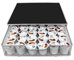 Estilo Coffee Pod Drawer Organizer Holds up to 36 K-cups ** You can find out more details at the link of the image.