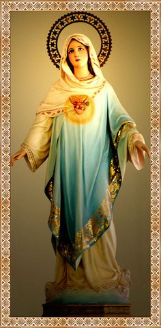 We have the most beautiful Mother! I want to know her most sacred heart.