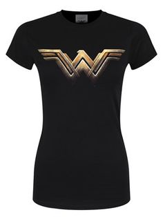 Celebrate the release of the Wonder Woman movie with this epic logo ladies tee. Featuring the classic 'WW' logo from DC's most famous superheroine. Every man knows women are heroes, make sure you wear the t-shirt to match. Official merchandise.