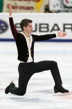 Richard Dornbush of USA Men Short Program Rostelecom Cup 2013, Mens Figure Skating / Ice Skating dress inspiration for Sk8 Gr8 Designs.