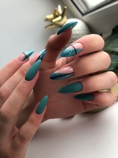 Classy Nails, Stylish Nails, Fancy Nails, Simple Nails, Pretty Nails, Cat Nails, Best Acrylic Nails, Diy Nail Designs, Girl Tips