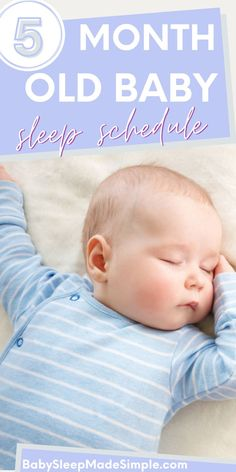 Do you want to learn everything about your 5 month old's sleep, including what their schedule and routine should be? This article is for you. It's got all the best tips you need on awake times, nap schedules, sleep routine and much more. Get informed on you baby's sleep patterns and successfully get your 5 month old sleeping well! #5montholdbaby #babysleep #babysleeptips #babysleepschedule #sleepschedule #awaketimes #babysleeproutine #sleeproutine Baby Sleep Routine, Baby Sleep Schedule, Bedtime Routine, 5 Month Old Sleep, 5 Month Old Baby, 5 Month Olds, Baby Development, Everything Baby, Baby Milestones