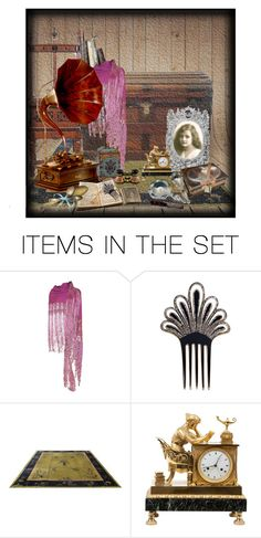 """Treasures in the Attic"" by kateo ❤ liked on Polyvore featuring art, vintage and 5930"