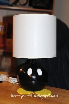 DIY Super Mario Bob-Omb Lamp #DIY