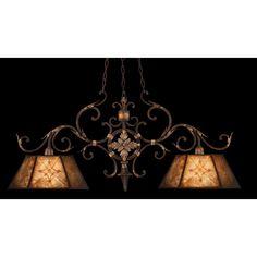 Fine Art Lamps Villa 1919 2 Lights Chandelier
