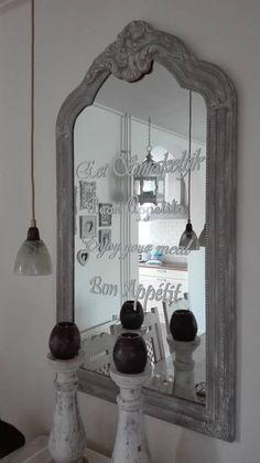 Spiegel van Jacqueline is #AnnieSloan #French Linen