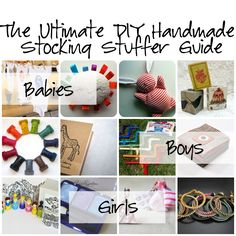 The Ultimate DIY Handmade Stocking Stuffer for Girls, Boys and Babies. #Tutorial #DIY #Christmas