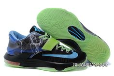 wholesale dealer 4b4e4 9f0d7 Kevin Durant 7 Black Blue Purple Green TopDeals, Price   79.21 - Adidas  Shoes,Adidas Nmd,Superstar,Originals. Gerald Holder · Nike KD 7 Mens