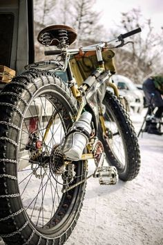 Cycling, Fat bikes are best in winter good in everything else.