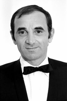 French singer Charles Aznavour - May - October Great Artists, Music Artists, Gemini People, Black And White Man, Music Photo, Jolie Photo, Vintage Music, Film Music Books, World Music