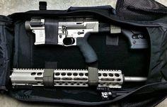 DRD Tactical KIVAARI AR Type Quick Takedown Semi Auto .338 Lapua Magnum Anti Materiel/Sniper Rifle/Carbine for some SERIOUSLY Long Range, Manpackable Shootin n Scootin!