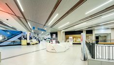 The refurbishment of a £5 million shopping centre was the perfect opportunity for Hunter Douglas to demonstrate their expertise in design and manufacture of the intricate metal ceilings.