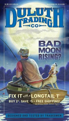 April 2013 Longtail T Shirt Cover: Bad Moon Rising?