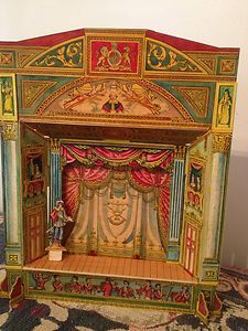 Beautiful Hand Painted Pollock's Toy Theatre | eBay