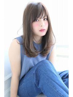ダイス(Dice) [Dice] バレンシア☆セミディ Summer Haircuts, Model Photos, Pretty Hairstyles, New Hair, Asian Beauty, Hair Inspiration, Short Hair Styles, Hair Makeup, Hair Cuts