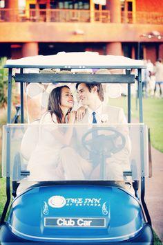 golf cart getaway    gideon photography Golf Wedding 8a926dbfed9e