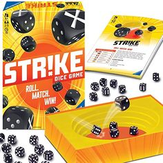 Amazon.com: Ravensburger Strike - Classic Dice Game for Kids and Adults - Roll. Match. Win!: Toys & Games Games To Buy, Games For Kids, Disney Dvd, Dice Games, Rolls, Ravensburger, Classic, Amazon, Products