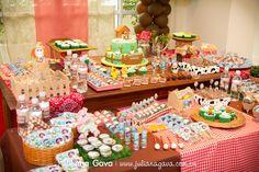 decoração festa fazendinha - Pesquisa Google