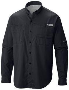 Men's PFG Tamiami™ II Long Sleeve Shirt/navy blue: S