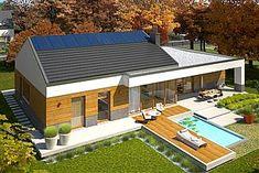 Projekt domu EX 11 G2 (wersja D) energo plus