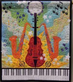 Saxophone quilt