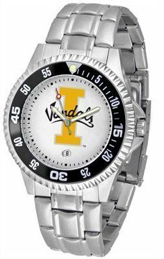 Idaho Vandals Suntime Competitor Game Day Steel Band Watch - NCAA College Athletics by SunTime. $69.95. This popular watch features a colorful rotating timer/bezel, Sturdy Steel strap, quartz accurate movement and your school logo boldly displayed on the dial. 1 year limited manufacturer warranty. Save 22%!