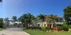 The Colonnade in Naples #Landscaping #Crawfordlandscaping #Naples