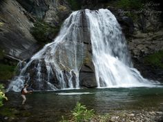 Cascade of the river Mur, Austrian Alps - GFFpix - share your best flyfishing pictures - Global FlyFisher