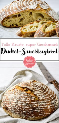 reines-dinkel-sauerteig-brot-ohne-hefe-backen-macht-glucklich/ delivers online tools that help you to stay in control of your personal information and protect your online privacy. Sourdough Recipes, Sourdough Bread, Bread Recipes, Crockpot Recipes, Bread Without Yeast, Vegan Bread, Vegan Snacks, How To Make Bread, Eating Habits