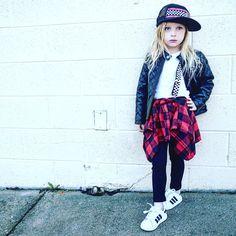 Cool Girl :  Pants and Suspenders @littleedgethrea