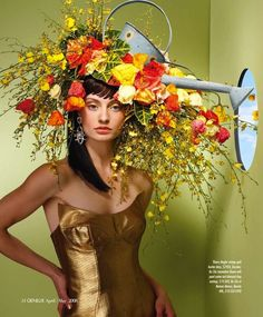 The Terrier and Lobster: Flower Trip by Bonnie Holland for Genlux April/May 2008
