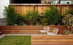 Laat je kleine tuin groter lijken