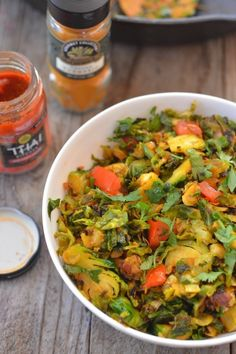 Thai Brussels Sprouts | Community Post: 30 Recipes To Help You Survive Whole30