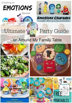 Disney's Inside Out is the hottest movie this summer and my kids are already begging for all the Inside Out merchandise and even asked for a party! So, I created the Ultimate Inside Out Movie Party Guide to help in my party planning.
