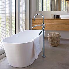 Une salle de bain zen design nordique