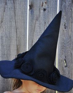 witch hat pattern tutorial -- for kid's sizes only, but could be easily adjusted