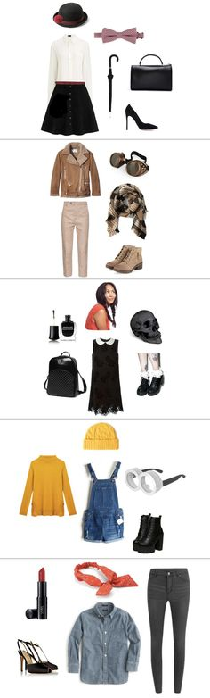 Last Minute DIY Halloween Costumes from Your Closet (High Speed - quick halloween costumes ideas