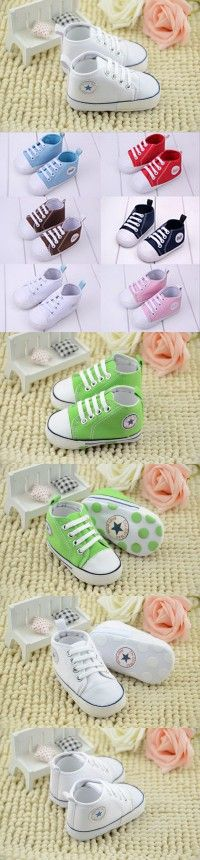 Newest Baby Shoes Unisex Kids Boy Moccasins Classic Sports Sneakers Bebe Soft Infant Toddler Bottom Lace-up T-tied Newborn Shoes $3.62