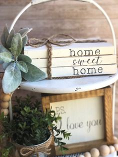 Stamped Book Set set of 3 decorative books wedding gift night stand decor shelf decor farmhouse books Tiered Tray decor Rustic Books, Farmhouse Books, Farmhouse Decor, Side Table Decor, Tray Decor, Sweet Home, Great Wedding Gifts, Great Housewarming Gifts, Painted Books