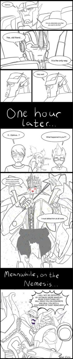 TFP Halloween: Who would win this costume contest? by Tone-chan on DeviantArt