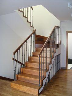 schody dywanowe dębowe tralki i poręcz - Szukaj w Google